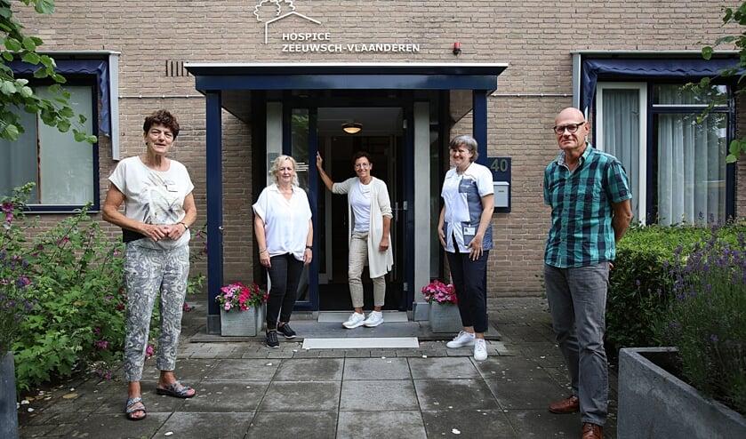 'Rond onze gasten staat een team van zorgprofessionals en vrijwilligers.' Foto: Peter Verdurmen