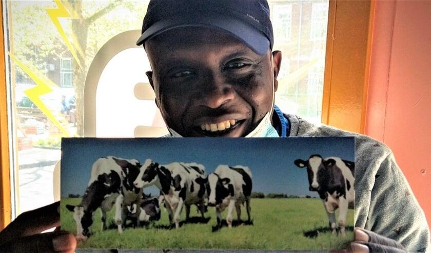 <p>Samson bleef mentaal overeind dankzij de koeien uit zijn kindertijd in Burundi.</p>