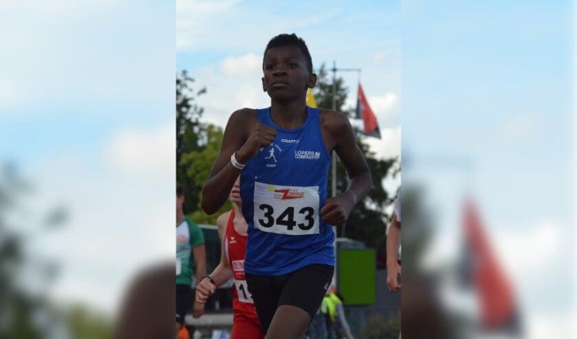 <p>Atleet Elihle Tersteeg van Running Team Simba.</p>