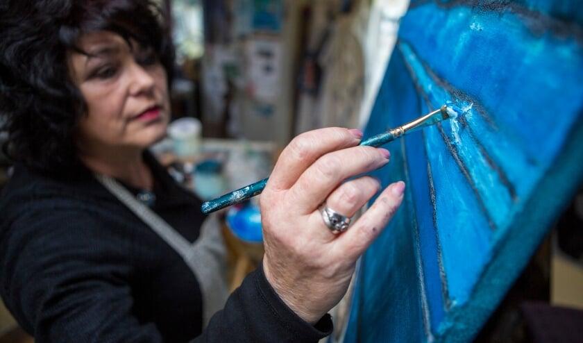 Het open atelierweekend is dé kans om kunstenaars aan het werk te zien in hun atelier.