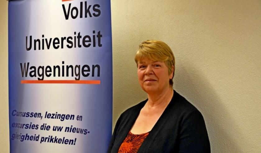 <p>Emilie van den Brink: &quot;De laatste jaren hadden we ongeveer twaalfhonderd leden. Ook uit de regio&quot;. (foto Jan Boer)</p>