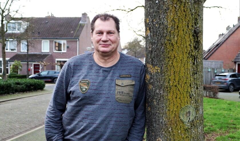 <p>Trainer Marco van Loon is door voorzitter Herman Bergacker naar RKVSC gehaald om de club nieuw elan te geven. </p>