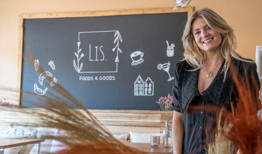 <p>Melissa Bos opent Lis Food & Goods in de Kromstraat</p>