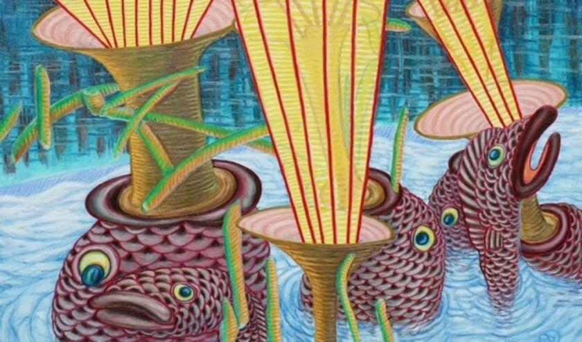 <p>Ilona schildert de tekeningen zo getrouw mogelijk over in verf, met al zijn details.&nbsp;</p>