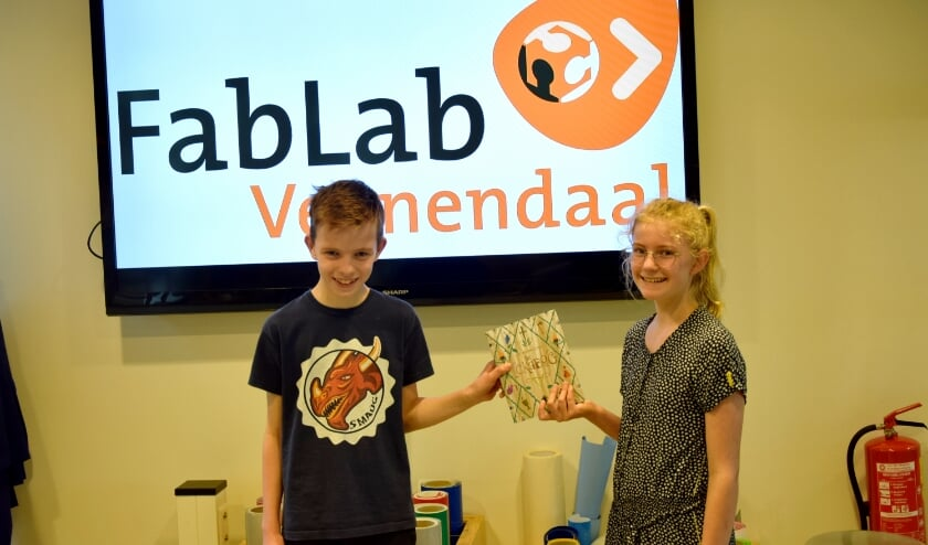 Winnaars Mincraft challenge mei FabLab Veenendaal