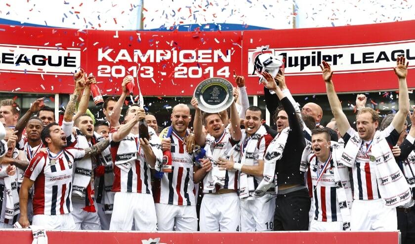 <p>Huldiging van Willem II na het behalen van het kampioenschap in de Jupiler League, seizoen 2013-2014.</p>