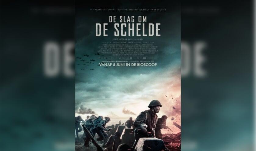<p>Sc&egrave;nefoto uit De slag om de Schelde.</p>