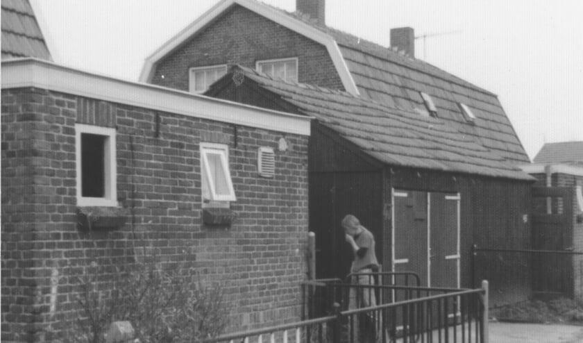 <p>Het huis van Adrie van der Horst in 1975, het jaar dat hij en zijn vrouw in de Vredenburgstraat kwamen wonen.</p>