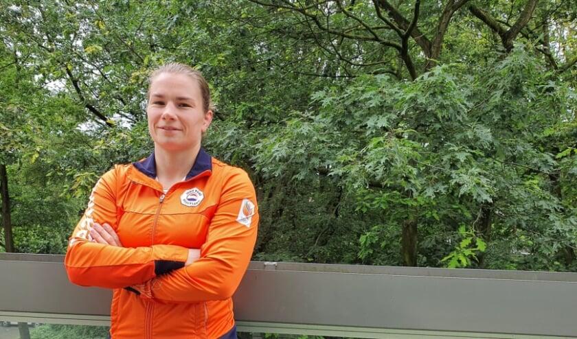 <p>Judoka Sanne Verhagen is nog altijd blij dat ze drie jaar geleden voor Doorwerth als woonplaats heeft gekozen.</p>