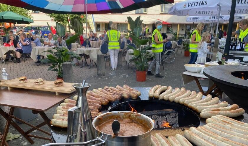 <p>Barbecue tijdens een eerdere editie.</p>