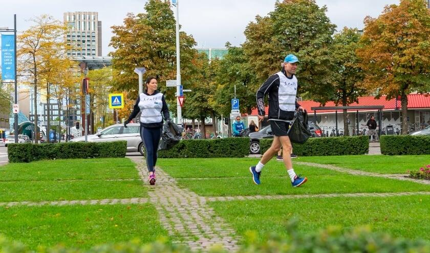 <p>Het woord Plogging is een samenvoeging van de woorden 'plocka' (Zweeds voor pakken) en 'jogging'.&nbsp;</p>