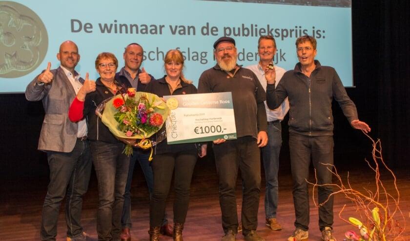 <p>In 2019 nam Vischafslag Harderwijk de Gelderse Roos Publieksprijs mee naar huis.</p>