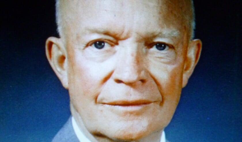 <p>De Amerikaanse President Dwight David Eisenhower.</p>