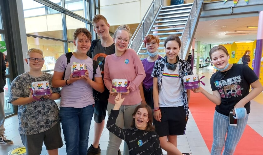 Op het Kalsbeek College locatie Bredius gaat een groep leerlingen als 'GSA' de strijd voor gelijkheid aan.