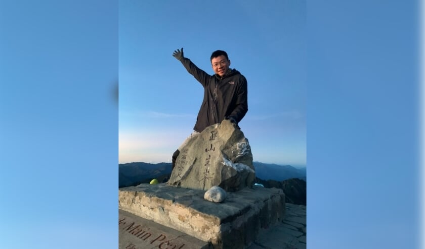 <p>Che Wei uit Taiwan.&nbsp;</p>