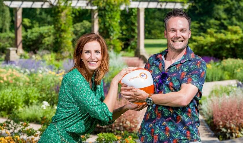 <p>Lisanne Halleriet en Frank Oosterwegel (foto: de verBeelding bv, Arjan van der Vegt)</p>