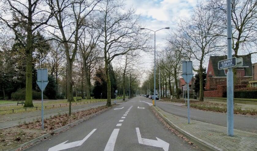<p>De Alberdingk Thijmlaan. (Foto: Eindhoven in Beeld / Frans van Beers).</p>