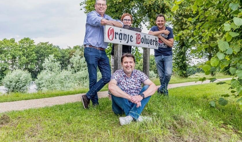 <p>&nbsp;Geerard den Herder, Monique de Bruijn, Stefan de Vetter en Matthieu Warrens.</p>