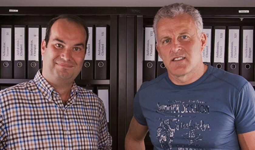 <p>Danny van der Kracht en Peter R. de Vries.</p>