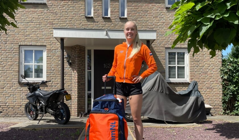 <p>Lisa Kruger is klaar voor vertrek naar Tokio voor de Paralympische Spelen.</p>