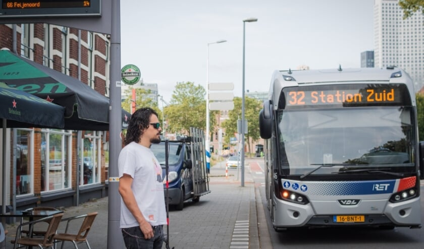 <p>Vergeleken met de noordoever van de stad is het op Zuid een stuk lastiger om met het openbaar vervoer ergens te komen.</p>