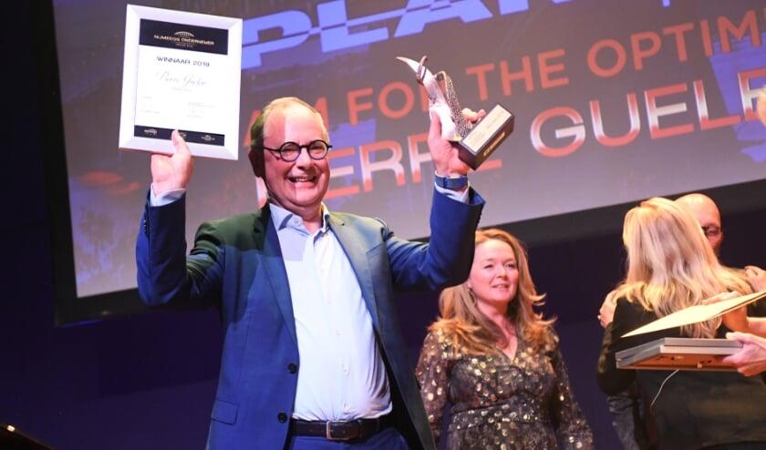 <p>Ondernemer van het jaar 2019: Pierre Guelen, eigenaar CEO van Planon. Wie neemt in 2021 het stokje over?&nbsp;</p>