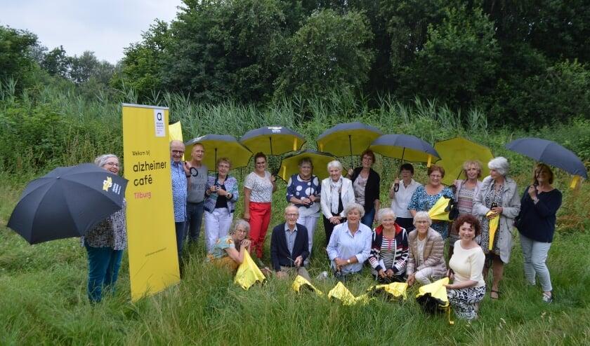 Vrijwilligers en gespreksleiders Alzheimer Café Tilburg