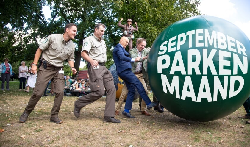 Wethouder Wijbenga trapt 5 september de Parkenmaand weer af.