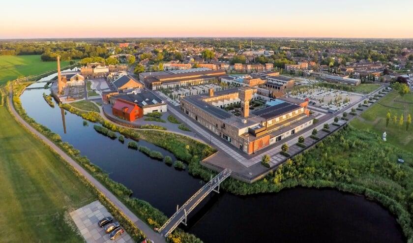 <p>Overzichtsfoto van het DRU Industriepark anno 2021.</p>