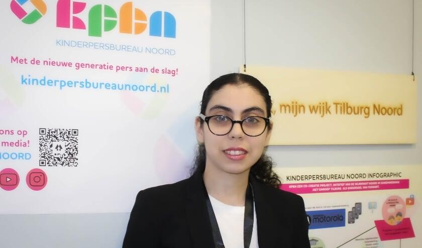 <p>Safaa Bouzambou initieert Kinderpersbureau Noord.&nbsp;</p>
