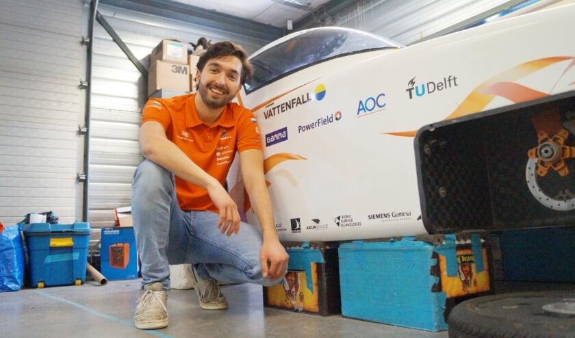 <p>Aerodynamics engineer Swen Sekha uit Duiven.</p>