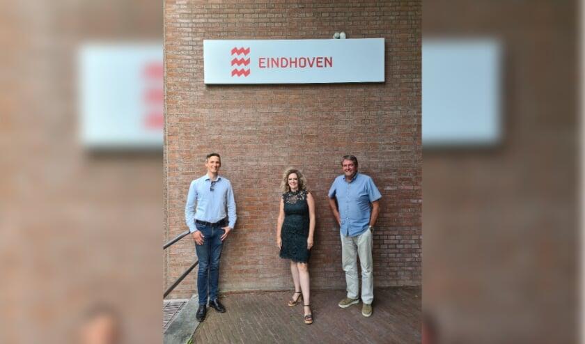 <p>V.l.n.r.: Bas Gerards, Astrid Dijk van Rooij en Harrie van het Hof van Omgevingsdienst Nederland.</p>