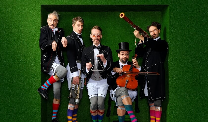 <p>Släpstick komt met de voorstelling The Roaring Twenties naar Het Musiater.</p>