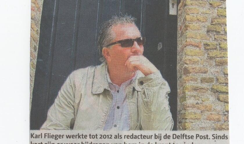 <p>Karl Flieger met wie Henk jaren samenwerkte</p>