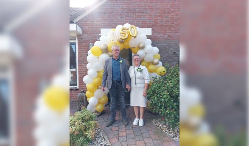 <p>Leo en Agnes Wieland waren vrijdag vijftig jaar getrouwd.</p>