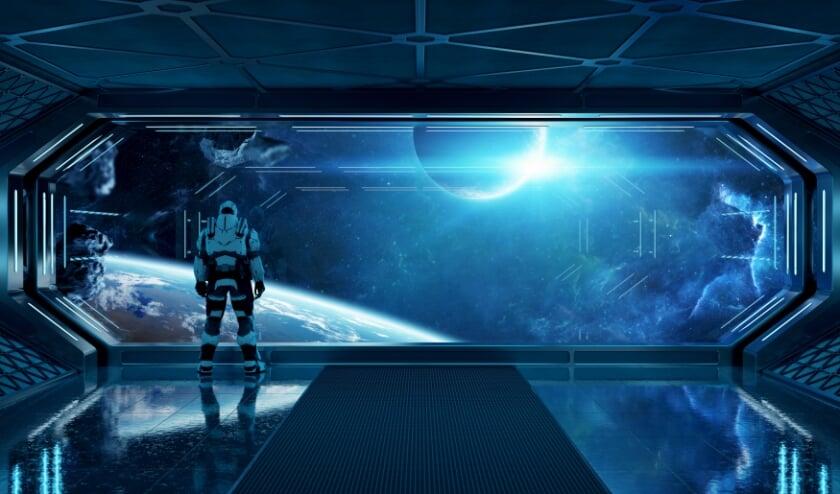 <p>Lange ruimtereizen zijn wellicht mogelijk met een evoluerend ruimteschip.</p>