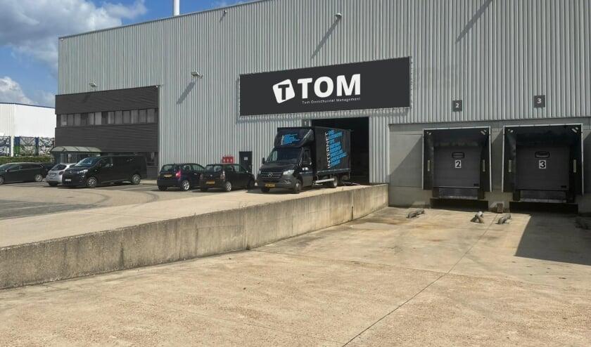 <p>Het nieuwe warehouse van Tom in Belgi&euml;.</p>