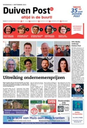 Editie voorpagina