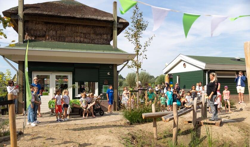 <p>De natuurlijke speeltuin van kinderboerderij De Wilgenhof is feestelijk geopend op 9 september. Foto: pr</p>
