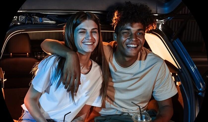 <p>Samen naar de film! Foto: Greenwheels</p>