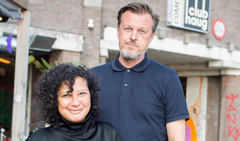 <p>Debbie van Polanen en Marcel Haug zijn altijd samen, zakelijk én privé. Foto: Katrien Gijsen</p>