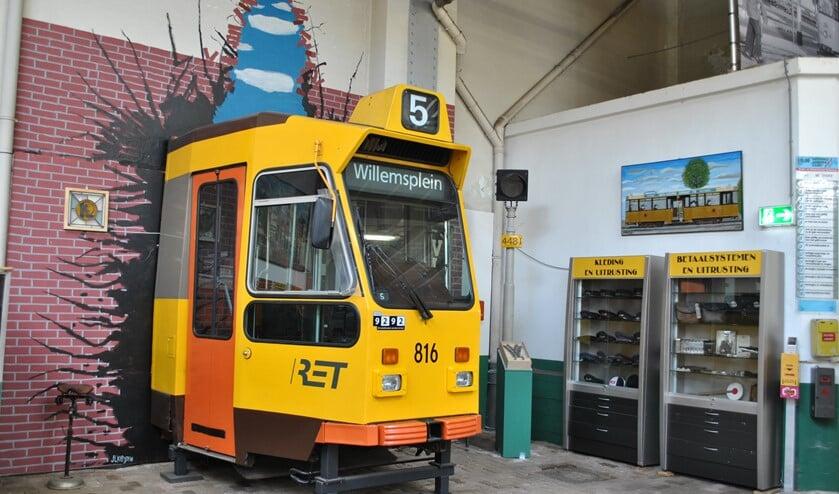 <p>Tientallen historische trams, bussen en de unieke museummetro.&nbsp; Foto: Stichting RoMeO</p>