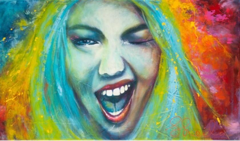 Blink!; werk van Sheila Haasnoot     Fotonummer: 709792