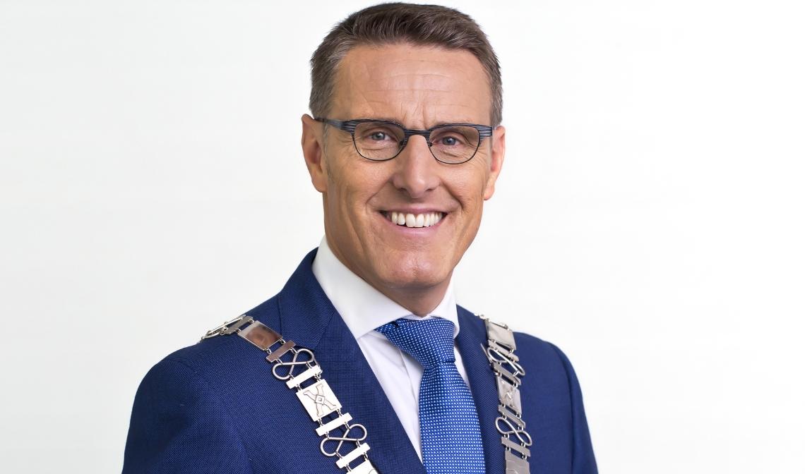 Burgemeester Frank van der Meijden
