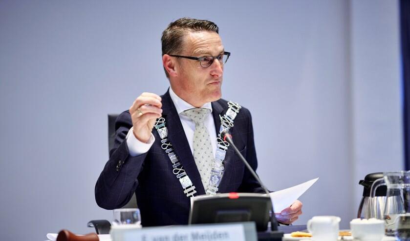 Burgemeester Frank van der Meijden   | Fotonummer: 32f0ec