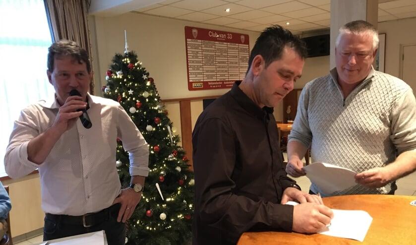 Archieffoto: Johnny Nooijen verlengde vorig jaar zijn contract met ASV'33   | Fotonummer: 3db96e