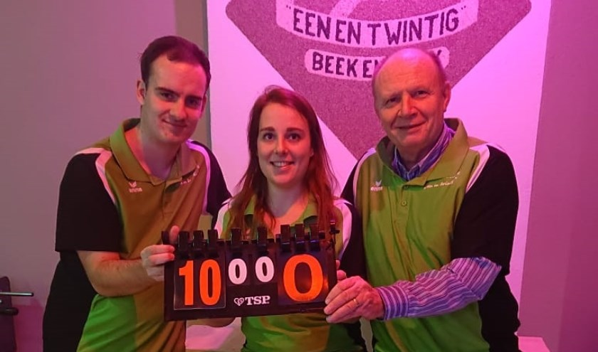 Kevin, Helmi en Jos wonnen met 10-0    | Fotonummer: 2ccd05