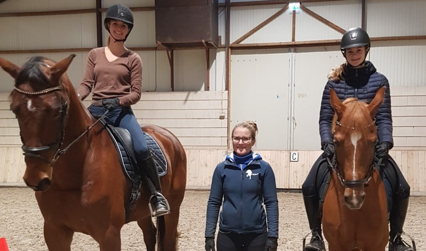 Daisy Roijackers, Sophie v.d. Vorst en Lara ter Mors   | Fotonummer: bbc35a