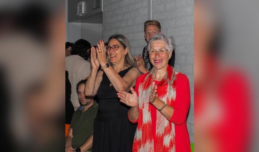 Wilma (l) en Maria (r) namen na vele jaren deze week afscheid van De Raagten   | Fotonummer: e60758