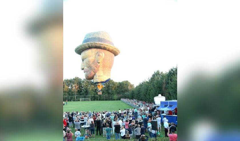 De Vincent van Gogh-ballon zal op 31 augustus opnieuw te zien zijn in Gemert   | Fotonummer: 3a6df8